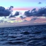 La beauté du ciel au coucher de soleil